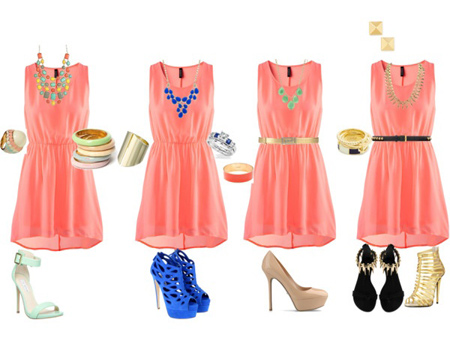 ست لباس به رنگ سال ۲۰۱۹