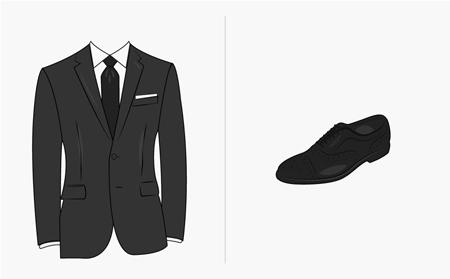 ایده هایی برای ست کردن رنگ کفش با کت و شلوار,ست رنگ کفش با کت و شلوار