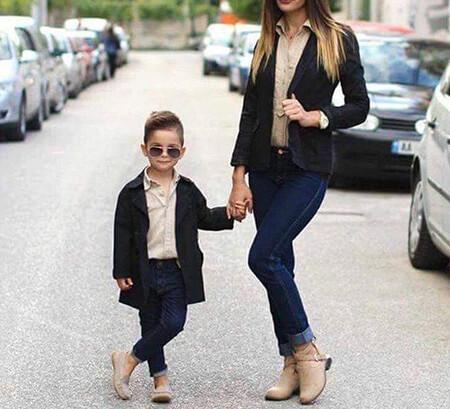 مدل ست مادر پسری, ست های مادر پسری
