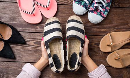 راهنمای ست کردن لباس با انواع کفش,ست کردن رنگ کفش و لباس زنانه