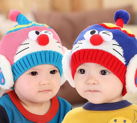 عکس های مدل شال و کلاه نوزادی