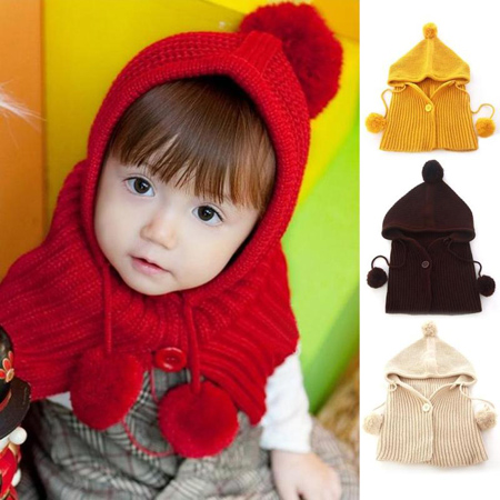 جدیدترین مدل کلاه زمستانی, طرح های شال و کلاه نوزادی