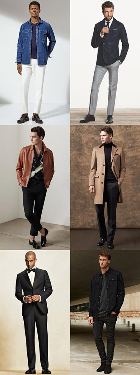 اصول ست کردن رنگ کفش با لباس آقایان