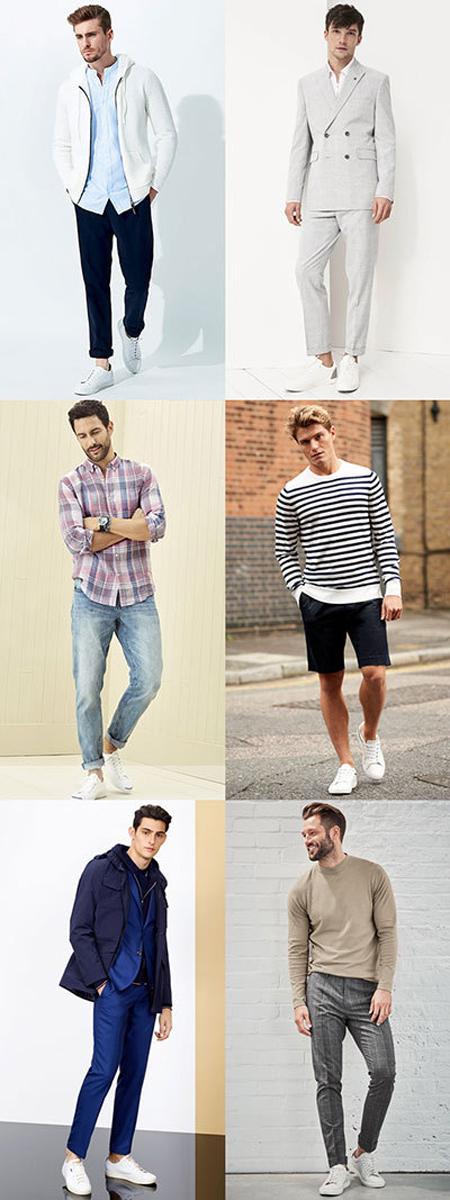 راهنمای ست کردن رنگ کفش و لباس, نحوه ست کردن کفش و لباس مردانه
