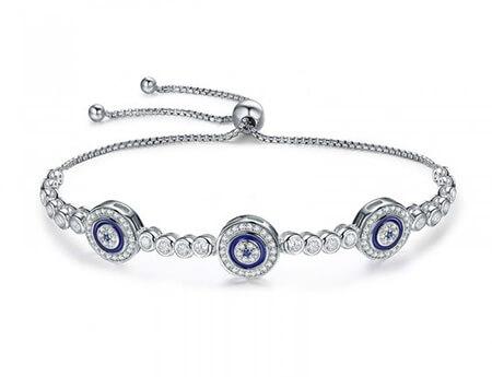 مدل دستبندهای نقره, جدیدترین مدل دستبند نقره, دستبند نقره نگین دار