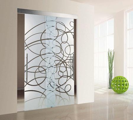 درب کشویی شیشه ای,مدل درب کشویی