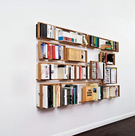 تکنیک های چیدمان کتاب ها, قراردادن کتاب ها در کتابخانه