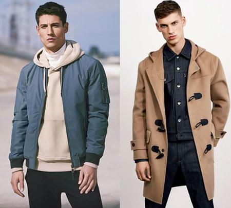 پوشش لباس در فصل سرد, لباس ها و اکسسوری های فصل سرد