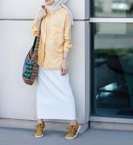 مدل لباس های تابستانی,شیک ترین مانتو و دامن تابستانی