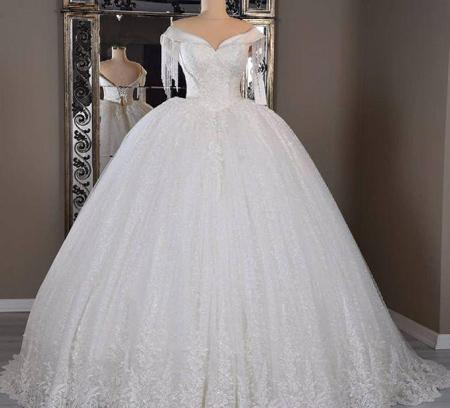 جدیدترین مدل لباس عروس, لباس عروس آستین بلند