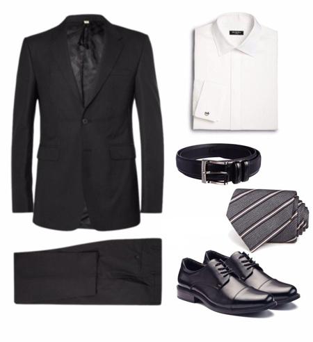بهترین رنگ کت و شلوار برای پیراهنهای سفید