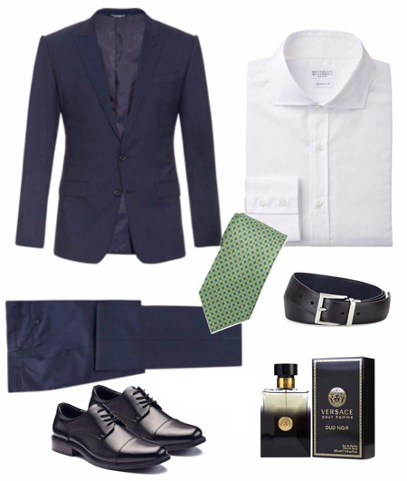 پوشیدن کت و شلوار رنگی با پیراهن سفید, راهنمای پوشیدن کت و شلوار با پیراهن سفید
