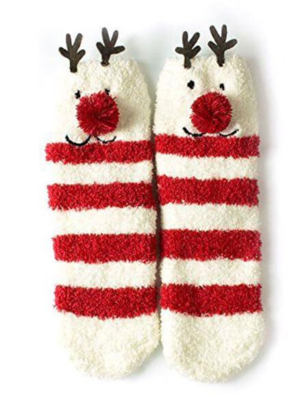 مدل جوراب های کریسمسی, جوراب با طرح بابا نوئل