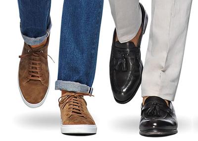 کفش مناسب با شلوار جین, انواع کفش با شلوار جین
