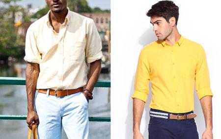شیوه انتخاب لباس مردانه, راهنمای هنگام انتخاب و خرید پیراهن مردانه
