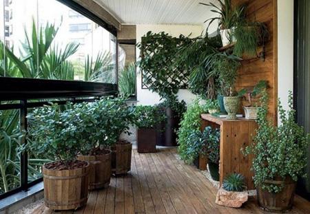 عکس های زیبای طراحی تراس خانه