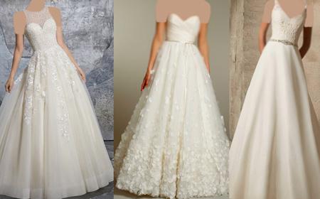 انتخاب بهترین لباس عروس,مناسب ترین لباس عروس