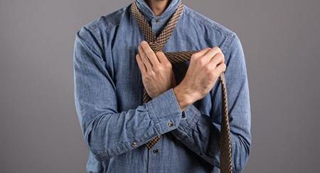 tying4 tie5 -  آموزش تصویری گره زدن کراوات