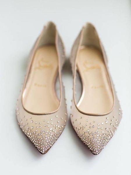 کفش عروس بدون پاشنه,شیک ترین کفش های مجلسی بدون پاشنه