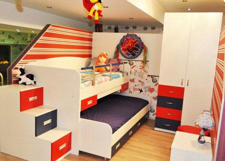 دکوراسیون و چیدمان اتاق با تخت تاشو, چیدمان خانه با تخت های تاشو