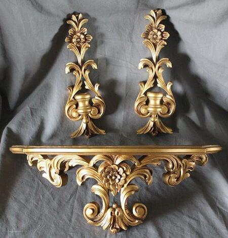 شیک ترین آینه و شمعدان دیواری, مدل های شیک آینه و کنسول دیواری