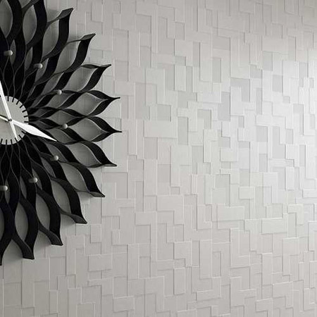 عکس کاغذ دیواری منزل, كاغذ ديواري جديد, دکوراسیون پذیرایی با کاغذ دیواری