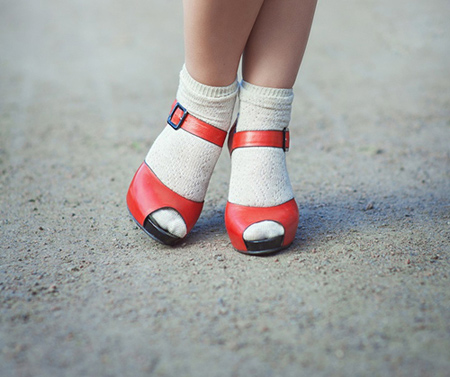 پوشیدن کفش پاشنه بلند,نکاتی برای پوشیدن کفش پاشنه بلند