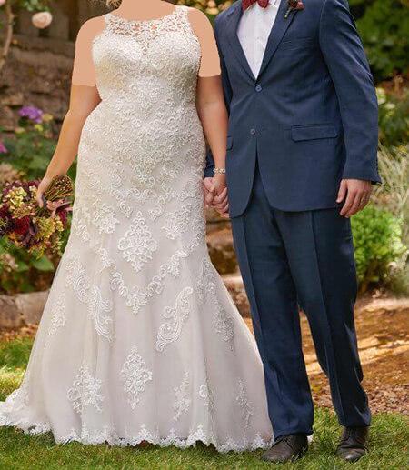 تصاویری از مدل لباس عروس, شیک ترین مدل لباس عروس برای افراد چاق, جدیدترین مدل لباس عروس برای افراد چاق