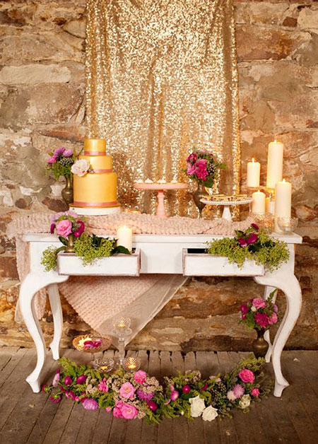 مدل تزیین میز جشن سالگرد ازدواج, شیک ترین تزیینات جشن سالگرد ازدواج