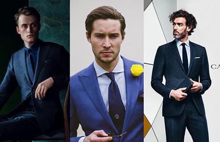 پیراهن های مناسب کت و شلوار سرمه ای, بهترین رنگ پیراهن برای کت و شلوار سرمه ای