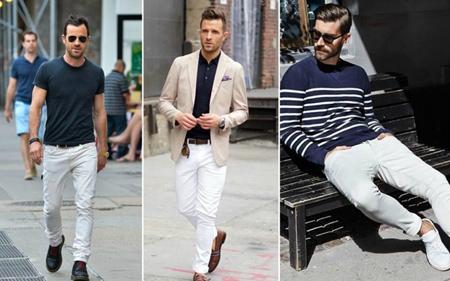 شلوار جین مردانه سفید,راهنمای انتخاب شلوار جین مردانه سفید