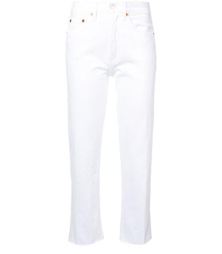 مدل شلوارهای جین سفید,شلوار جین سفید کلاسیک