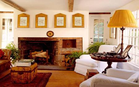 تغییرات زمستانی خانه, دکوراسیون و چیدمان خانه