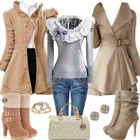 مدل ست کردن لباس های زمستانی,مدل ست های زمستانی