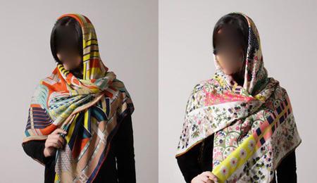 مدل روسری مجلسی,مدل شال و روسری