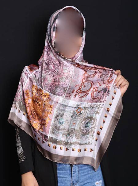 مدل روسری ابریشمی,شال و روسری