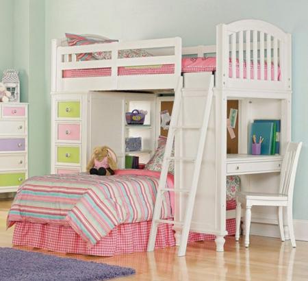 مدل تخت سه طبقه, کمد و تخت دو طبقه