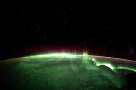 شفق قطبی از منظر فضا،اخبار علمی،خبرهای علمی