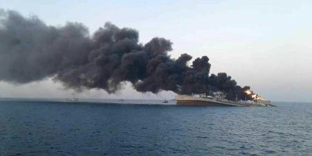 آتش گرفتن کشتی عراقی،اخبار بین الملل،خبرهای بین الملل