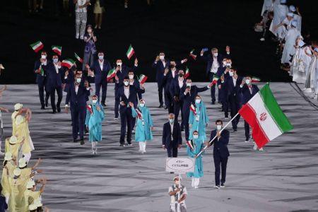 کاروان ایران در افتتاحیه المپیک 2020،اخبار ورزشی،خبرهای ورزشی