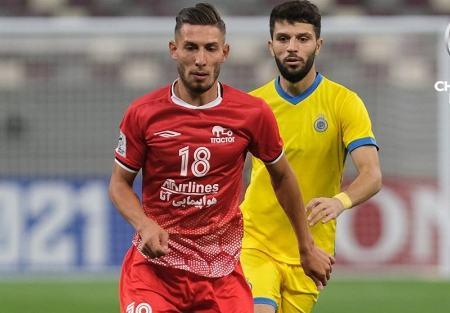 دیدار تراکتور و النصر،اخبار ورزشی،خبرهای ورزشی