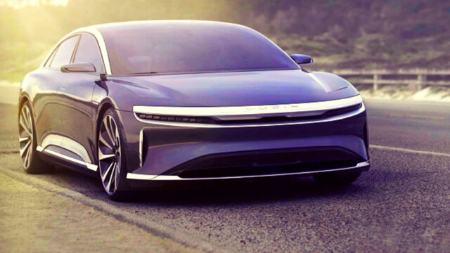 خودرو برقی لوسید ایر،اخبار دنیای خودرو،خبرهای دنیای خودرو