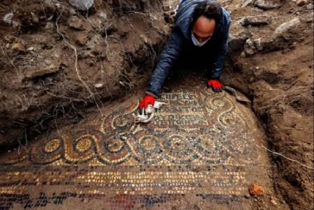 عکسهای جالب,عکسهای جذاب,موزاییک 1500 ساله