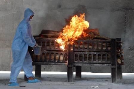 عکسهای جالب,عکسهای جذاب,سوزاندن اجساد