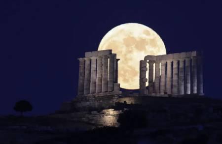 عکسهای جالب,عکسهای جذاب,ماه کامل