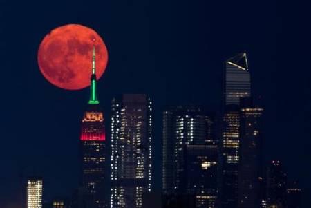عکسهای جالب,عکسهای جذاب,قرص کامل ماه