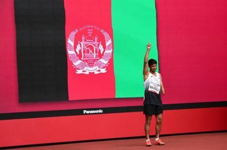 عکسهای جالب,عکسهای جذاب,ورزشکار افغانستانی