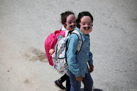 عکسهای جالب,عکسهای جذاب,مدارس فلسطین