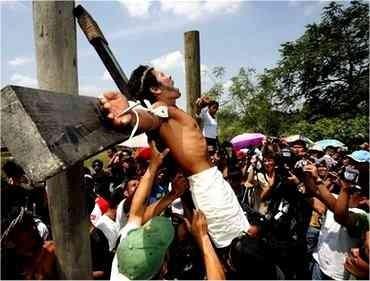 مصلوب شدن مسیحیان