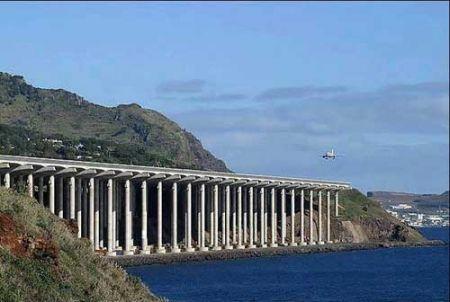 باند جالب یک فرودگاه بین زمین و هوا